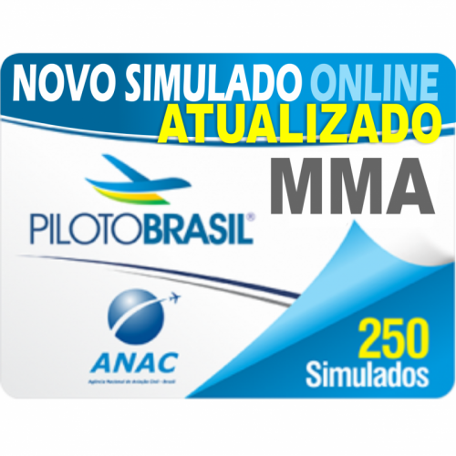 250 Simulado Mecânico de Manutenção Aeronáutica