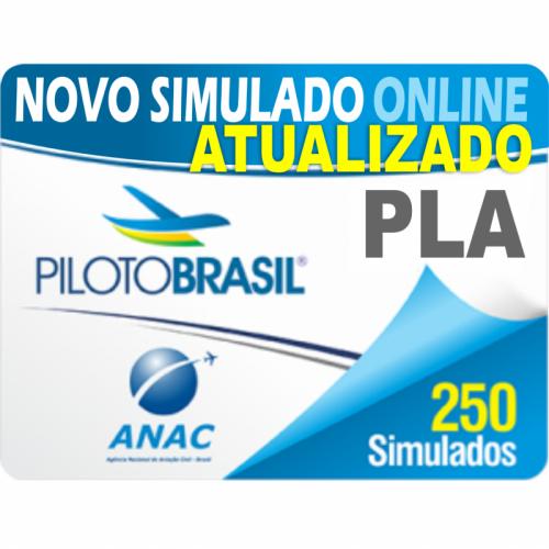 250 Simulado Piloto de Linha Aérea Avião