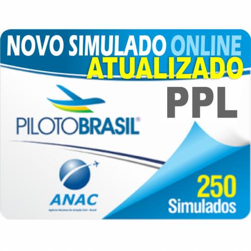 250 Simulado Piloto de Planador