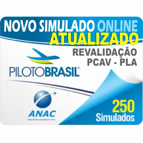 250 Simulado Revalidação de Piloto Comercial/IFR