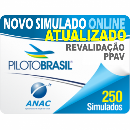 250 Simulado Revalidação de Piloto Privado de Avião