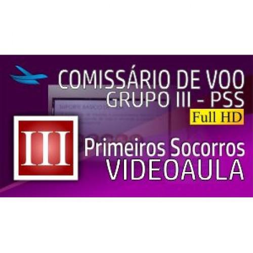 Videoaula Comissário de Voo - Grupo III - PSS