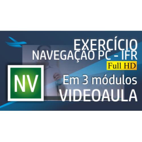 Videoaula Exercício de Navegação PC/IFR