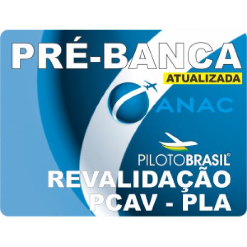 10 Pré-Bancas Revalidação de Piloto Comercial/IFR