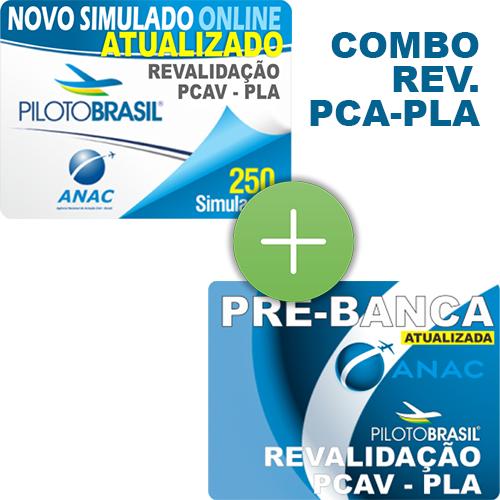 Combo 2 em 1 - Revalidação PCA - PLA