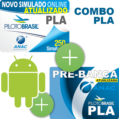 Combo 3 em 1 - PLA - Android