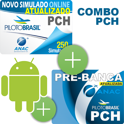 Combo 3 em 1 - PCH - Android