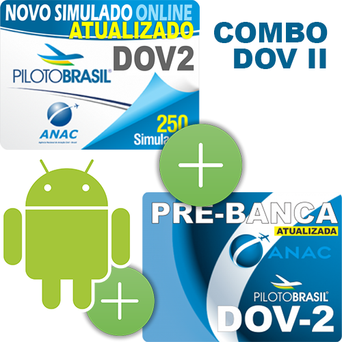 Combo 3 em 1 - DOV II - Android