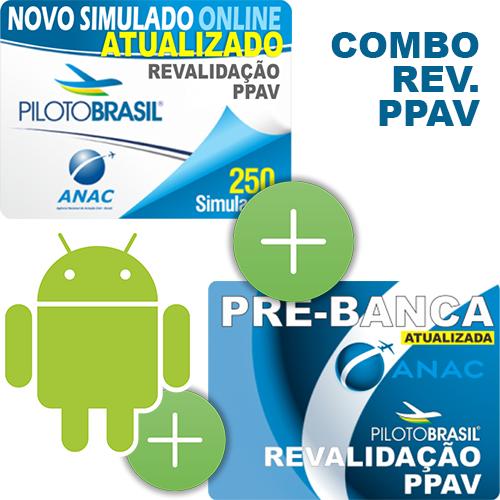 Combo 3 em 1 - Revalidação PPAV - Android