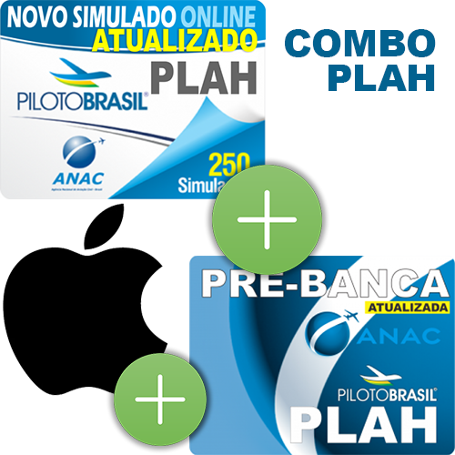 Combo 3 em 1 - PLAH - iOS