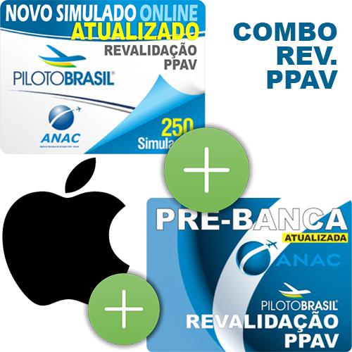 Combo 3 em 1 - Revalidação PPAV - iOS